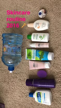 These are the products I currently use.