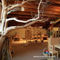 Beautiful Reggio Emilia classroom that would work at home.