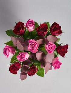 Valentine's Dozen Rose Vase (Pre Order)