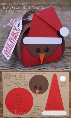 colour me happy: Christmas curvy keepsake boxes