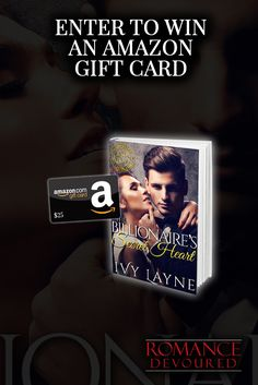 Win a $25 Amazon Gift Card from Author Ivy Layne http://www.romancedevoured.com/giveaways/win-a-25-amazon-author-ivy-layne/?lucky=290610