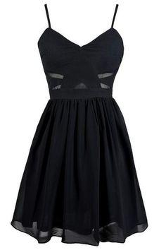 Sexy Prom Dress,Black Prom Dress,Lovey Cute Prom Gown,Cocktail Dress by fancygirldress, $105.00 USD