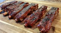This is the Best Wild Boar BBQ Ribs Recipe, and It Doesn't Require a Grill. Wild Boar BBQ Ribs recipe that will make your taste buds go nuts! Pork Rib Recipes, Venison Recipes, Barbecue Recipes, Grilling Recipes, Fish Recipes, Meat Recipes, Cooking Recipes, Syrian Recipes, Cooking Ribs