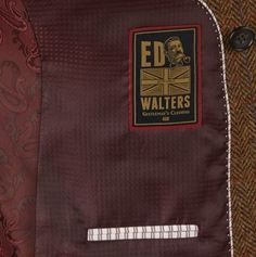 Ed Walters Grafton Blazer is Fully Lined With One Internal and Three External Pockets