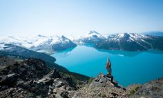 on top of Panorama Ridge, Garibaldi Provincial Park.