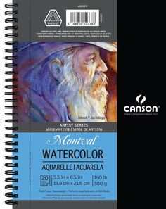 "Amazon.com: CANSON Artist Series Watercolor Side Wire Pad, 9"" x 12"""