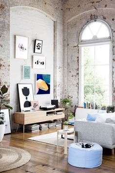 Inspiring Warehouse Apartment Beautifully Styled by Hunting for George | Scandinavian Interior Design | #scandinavian #interior