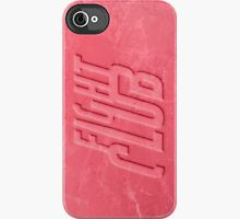 Fight Club Soap Case iPhone Case by huckblade
