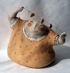 """Anne-Sophie Gilloen ...""""Sensibilité, émotion partagées Anne-Sophie Gilloen est une passionnée de sculptu..."""