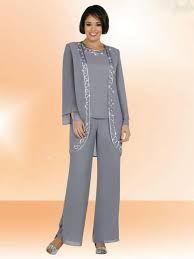mother of bride pant suits plus size - Google Search