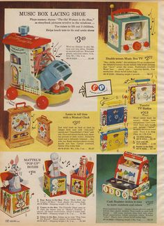 Popular Toys in the 1960s | 1960s Toys Advertisements from Catalogs