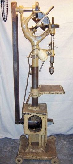 Drill press with style: