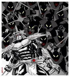 Shredder & the Foot Clan Shredder Tmnt, Ninja Turtles Shredder, Teenage Ninja Turtles, Ninja Turtles Art, Jeffree Star Tattoos, Usagi Yojimbo, Girl Power Tattoo, Warrior King, Western Comics