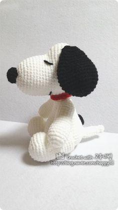 #뜨개질#코바늘#스누피 만들기#스누피 더 피너츠 무비#crochet#DIY #crochet snoopy pattern#crochet sn...