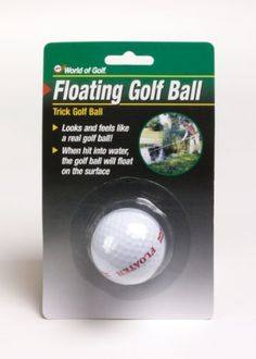 Jef World of Golf Gifts and Gallery, Inc. Floating Golf Ball (White) by JEF WORLD OF GOLF. $7.03
