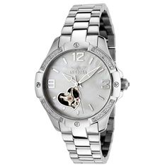 Invicta Women's 0288 Specialty Collection Automatic Diamond Accented Stainless Steel Watch -- You can get additional details at the image link.