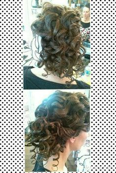 I love the wand curls. This curling iron heats up so fast and creates beautiful curls! Hope you like it! #Apostolichair