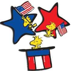 The 4th of July with Woodstock Charlie Brown Quotes, Charlie Brown And Snoopy, Snoopy Love, Snoopy And Woodstock, Peanuts Characters, Cartoon Characters, Charles Shultz, Winnie The Poo, Snoopy Images