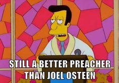still better than Joel. #Lutheran #humor