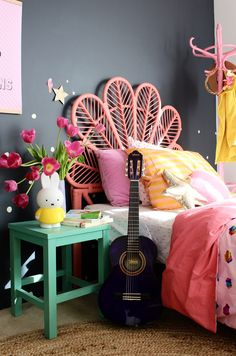 Girls bedroom Ideas - more kids room ideas on the blog