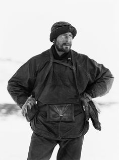 Edward Adrian Wilson wearing a sledging outfit in the Ross Dependency of Antarctica, during Captain Robert Falcon Scott's Terra Nova Expedition to the Antarctic, April Get premium, high resolution news photos at Getty Images Cthulhu, Robert Falcon Scott, Captain Scott, Roald Amundsen, Heroic Age, Arctic Explorers, Terra Nova, Robert Peary, Mountaineering