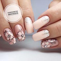 How to easily remove the semi-permanent nail polish? - My Nails Fall Nail Art Designs, Gel Nail Designs, Pink Nails, My Nails, Nagel Stamping, Nagel Bling, New Nail Art, Easy Nail Art, Flower Nail Art