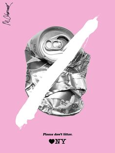 Anti-Litter Posters - Graphis