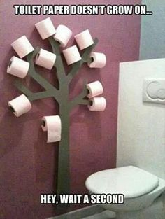 Forrest themed bathroom, and this would fit perfect!