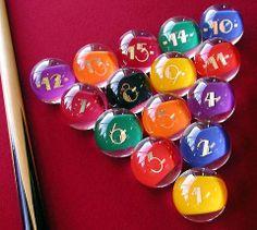 Unique Billiard Balls | Most Popular Billiard Balls | Pool Table Accessories