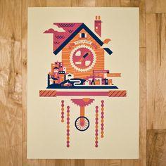 Bandito Design Bike + Cuckoo-themed poster on sale $18