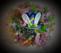A personal favorite from my Etsy shop https://www.etsy.com/listing/266627821/easter-parade-wreath