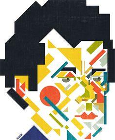 Iv Orlov - Expiremental   from malevich self-portrait.