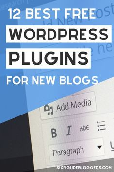 12 best WordPress plugins for bloggers. Every new blogger needs these WP plugins to help their new blog be safe | Maddy Osman, aka The Blogsmith, shares lessons learned about freelancing, WordPress plugins for bloggers, SEO writing and blogging resources & tools. You can find her latest knowledge drop to help you grow to a six-figure business at www.the-blogsmith.com/blog Wordpress For Beginners, Blogging For Beginners, Business Website, Business Tips, Online Business, News Blog, Blog Tips, Wordpress Plugins, Wordpress Theme