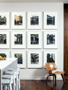 Unique wall photo display Ideas For You (15)
