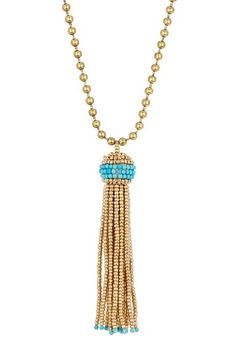 Lena Bernard Alba Turquoise Necklace by Assorted on @HauteLook