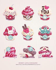/// Bunny Love Cupcakes ///
