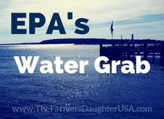Does the EPA have regulatory authority to decide local land issues under the Clean Water Act? It certainly thinks so...