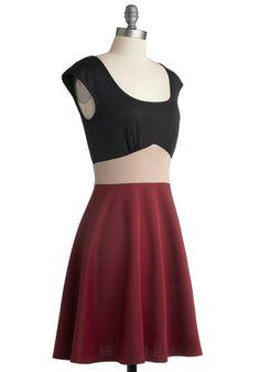 Fundamental Finesse Dress, #ModCloth