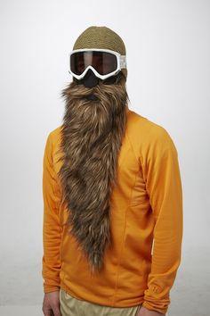 Bearded Ski Masks Will Keep You Warm on the Slopes