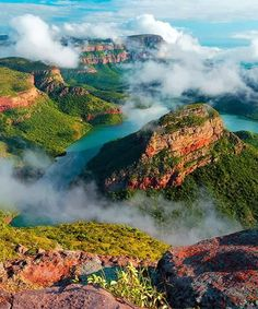Lovely Blyde River Canyon - South Africa.