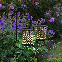 Rhiad Solar Lanterns Set of 2
