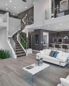 A modern open concept! By Prorail Systems