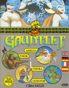 Gauntlet - the amount of quarters i put into this arcade game at the pizza place could probably buy me an xbox Vintage Video Games, Retro Video Games, Vintage Games, Retro Games, All Video Games, Classic Video Games, Bubble Games, Nintendo, Middle Ages