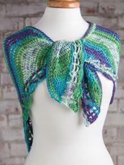 Easy Crochet Shawl (Knit and Crochet Now! Season 5, Episode 505)