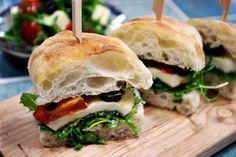 브런치카페 메뉴 치아바타 샌드위치 만들기 :: 세미짱이 만드는즐거움, 맛보는행복