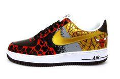 "Nike Air Force 1 ""Chicago Bulls"" Custom by Sekure D"