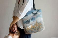 Валяние - Сумки - Шерстяные сумки - Ручная работа - handmade - felting - bags