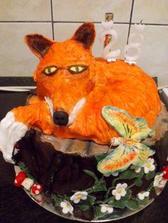 Fox cake from hungary 2015