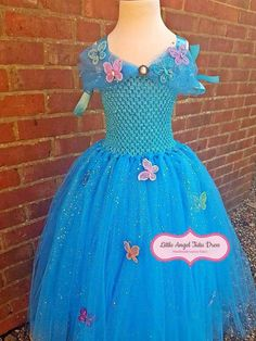 Check out this item in my Etsy shop https://www.etsy.com/uk/listing/554536982/cinderella-inspired-dress-cinderella