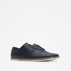 Image 2 of MICRO-PERFORATED URBAN SHOES from Zara